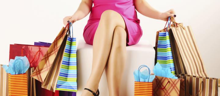 Faire du shopping est bon pour la santé